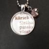 Halsband med utdrag ut ordbok, 200 kr