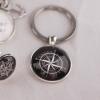 Nyckelring med kompass. 90 kr