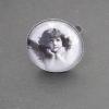 Drömmande ängel, justerbar ring i antiksilver