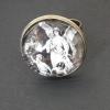 Beskyddande ängel, justerbar ring i bronsfärg