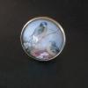Fåglar, justerbar ring i bronsfärg